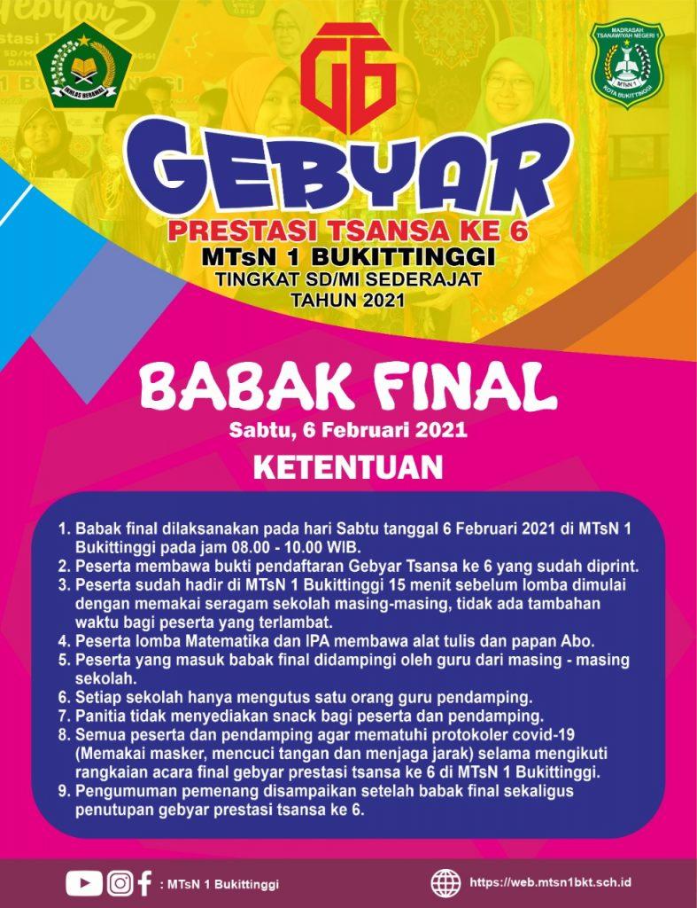 Final Gebyar 6