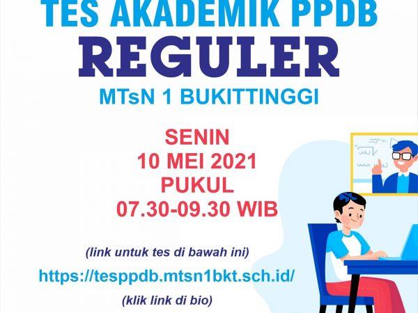 TES AKADEMIK PPDB 2021/2022